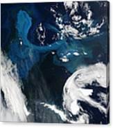 Icebergs Near South Georgia Island Canvas Print