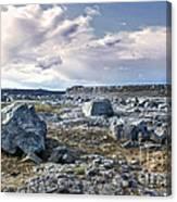 Iceland Barren Landscape - 02 Canvas Print