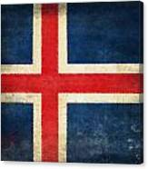 Iceland Flag Canvas Print