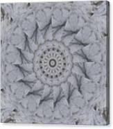 Icy Mandala 1 Canvas Print