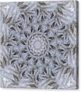 Icy Mandala 3 Canvas Print