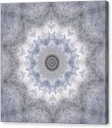 Icy Mandala 5 Canvas Print