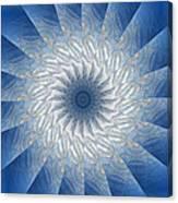 Icy Mandala 7 Canvas Print