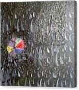 Illusion Of Black Rain Canvas Print