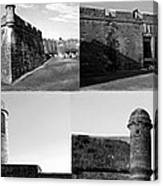 Images Of The Old Castillo Canvas Print