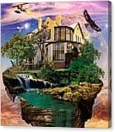 Imagination Home Canvas Print