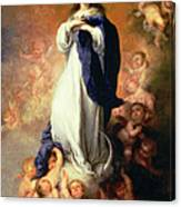 Immaculate Conception Of The Escorial Canvas Print