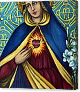 Immaculate Heart Canvas Print