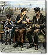 Immigrants: Castle Garden Canvas Print