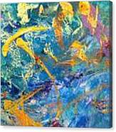 Impetus Of Joy Canvas Print