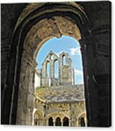 In A Monastery  Canvas Print