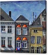 In Den Gouden Appel Canvas Print
