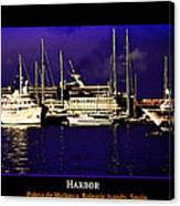 In Harbor Canvas Print