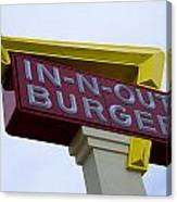 In-n-out IIi Canvas Print