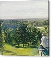 In Richmond Park Canvas Print