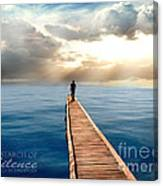 In Search Of Silence  Canvas Print