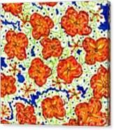In The Garden II Canvas Print