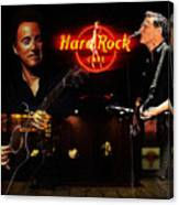 In The Hard Rock Cafe Canvas Print