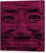 In Your Face In Hot Pink Canvas Print