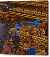 Inca Gold In The Galaxy Pawnshop. Canvas Print