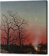 Incantations Of The Witch Canvas Print