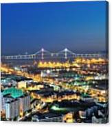 Incheon City Canvas Print