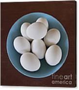 Incipient Egg Salad Canvas Print