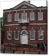 Independence Hall Philadelphia I Canvas Print