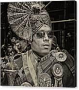 India Day Parade Nyc 8 19 12 Canvas Print
