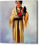 Indian Doll Canvas Print