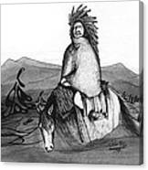 Indian Horse Canvas Print