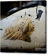 Indian Motocycle Gas Tank Canvas Print