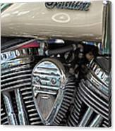 Indian Motorcycle Engine Canvas Print