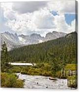 Indian Peaks Summer Day Canvas Print