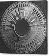 Indian Pottery In Black And White Canvas Print