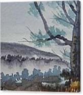 Indian Run Overlook Canvas Print