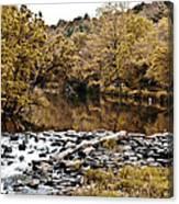 Indian Summer At Brandywine Creek Canvas Print