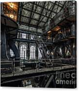 Wheels Of Industry Canvas Print