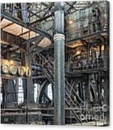 Industrial 8 Canvas Print