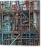 Industrial Disease Canvas Print