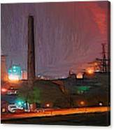 Industrial Lights Canvas Print