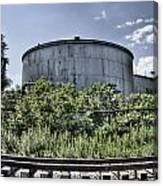 Industrial Tank Canvas Print