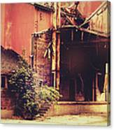 Industry In Disarray Canvas Print