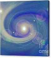 Infinity Blue Canvas Print
