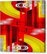 Information Superhighway Canvas Print