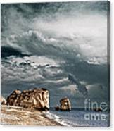 Infrared Aphrodite Rock Canvas Print