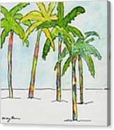 Inked Palms Canvas Print