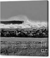 Inlet Storm Surf Canvas Print