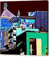Inner City Canvas Print