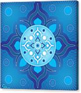 Inner Guidance - Blue Version Canvas Print
